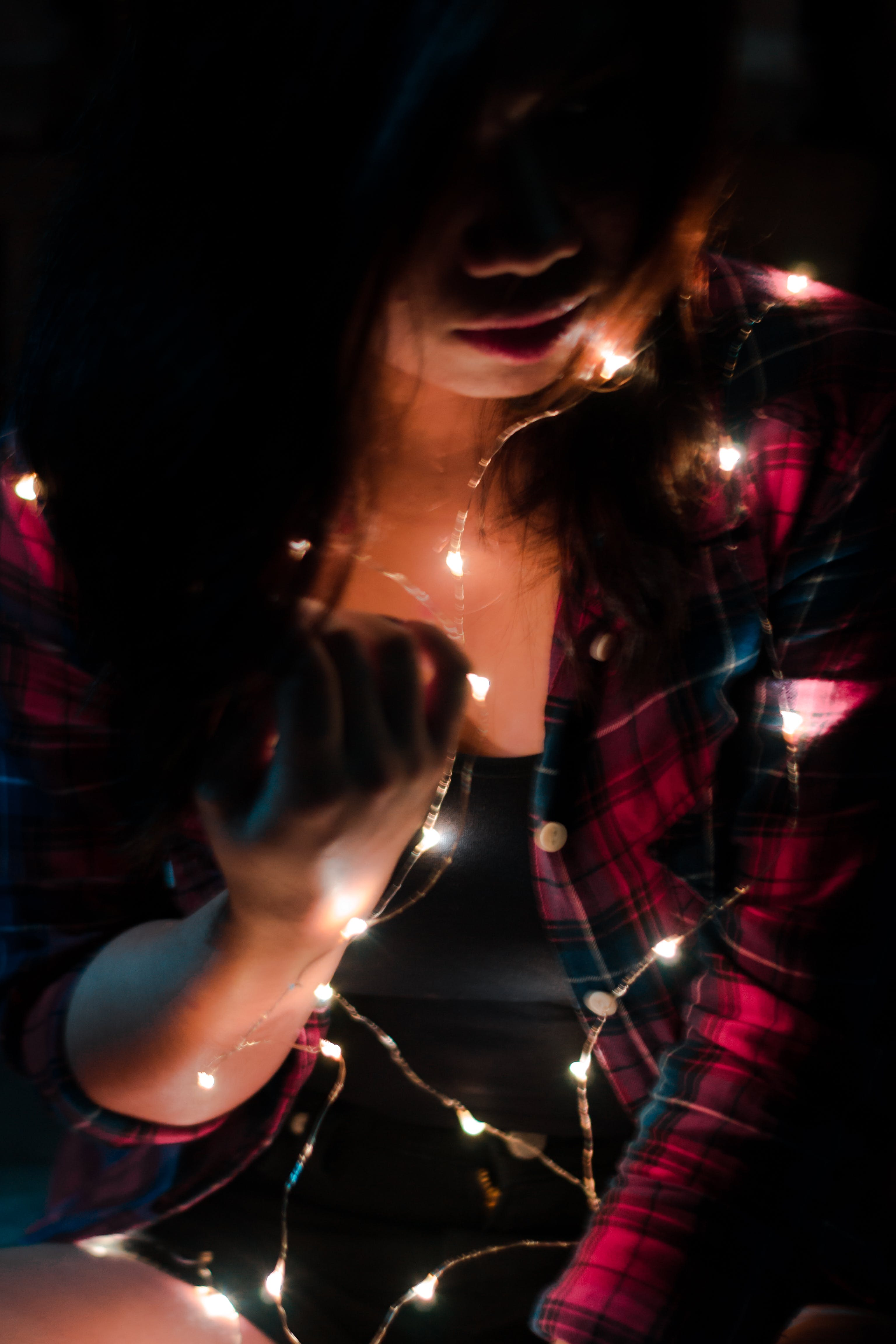 Free stock photo of fairy lights