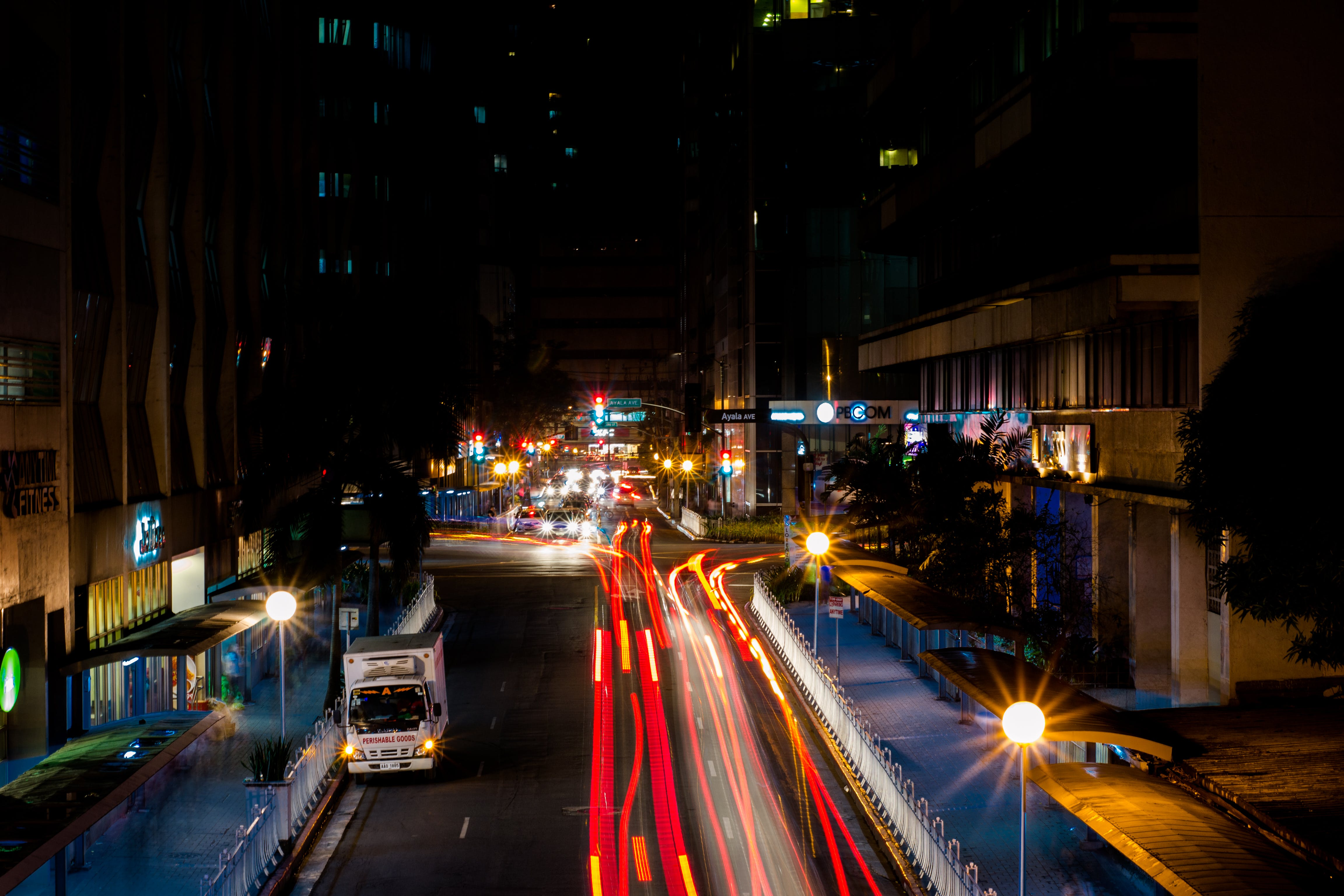 Free stock photo of city, light trail, light trails, speed of light