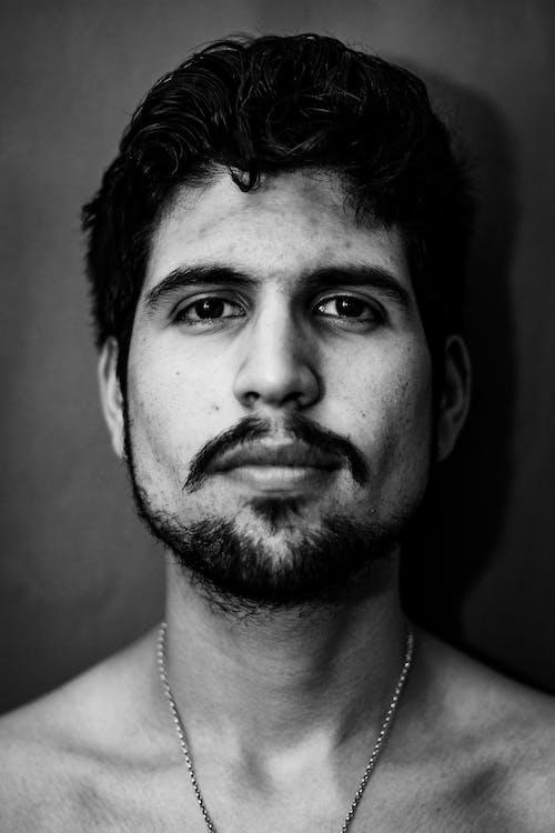 Free stock photo of black and white, men, portrait