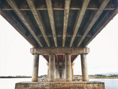 Free stock photo of bridge, construction, engineering, symmetrical