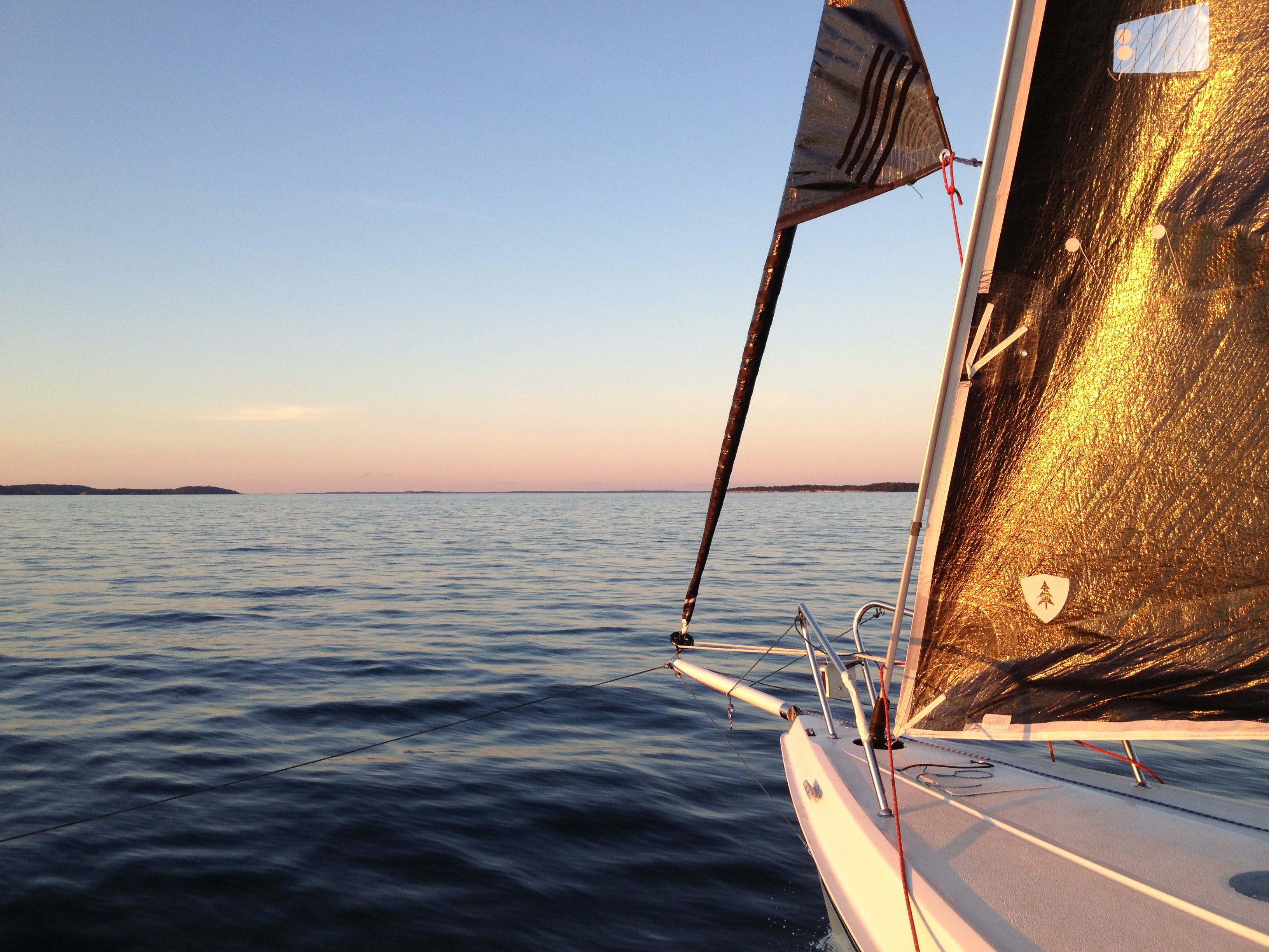 Free stock photo of sea, sunset, ocean, sailing