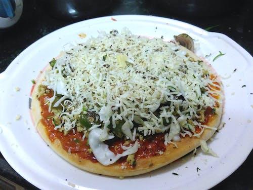 おいしい, ピザ, 自家製の無料の写真素材