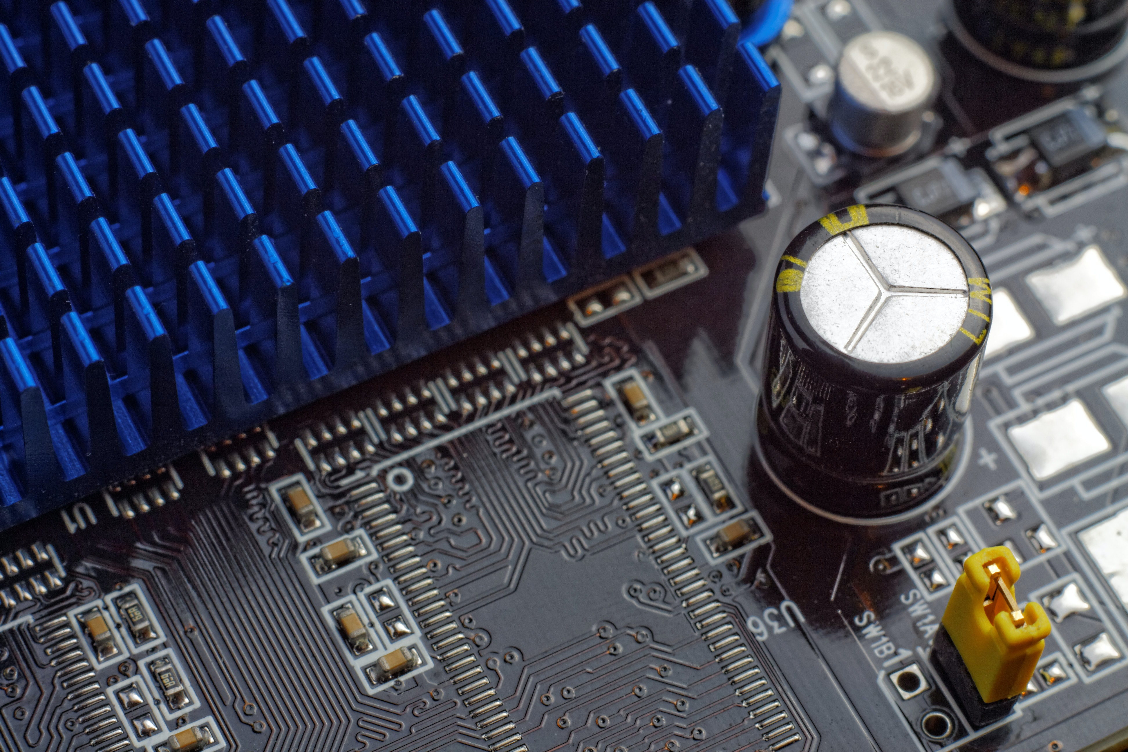 Close Up Photography Of Computer Motherboard 183 Free Stock