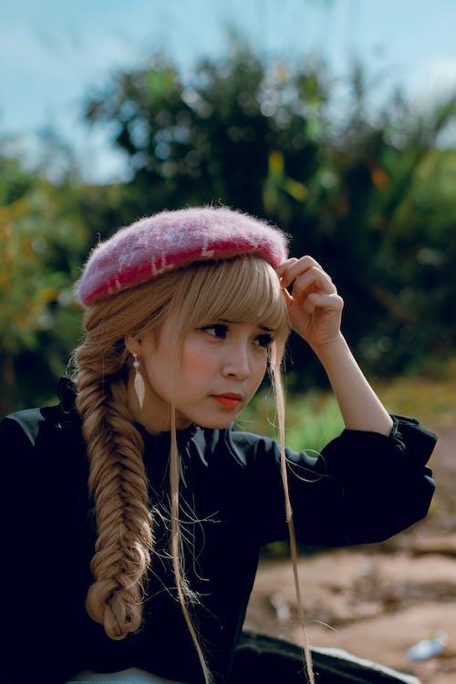 азиатка, Азиатская девушка, волос