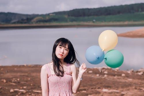 Бесплатное стоковое фото с азиатка, Азиатская девушка, ассортимент, веселье