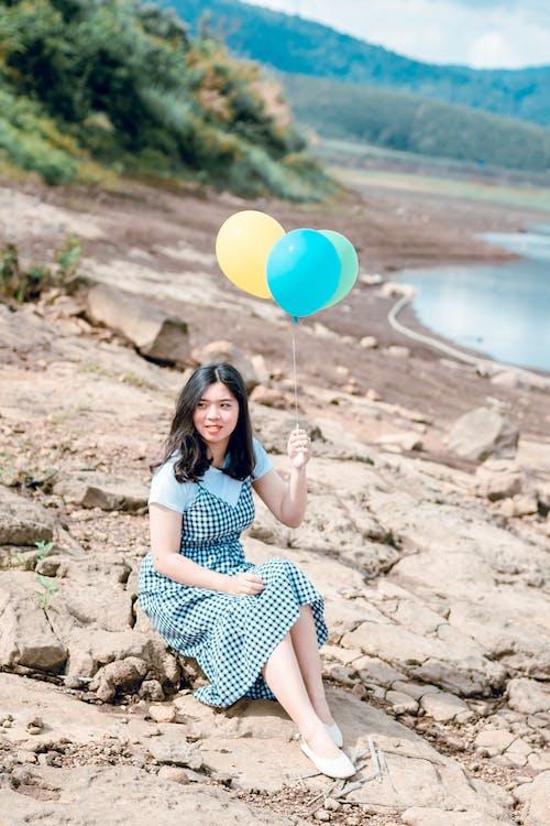Kostenloses Stock Foto zu asiatin, asiatische frau, entspannung, erholung