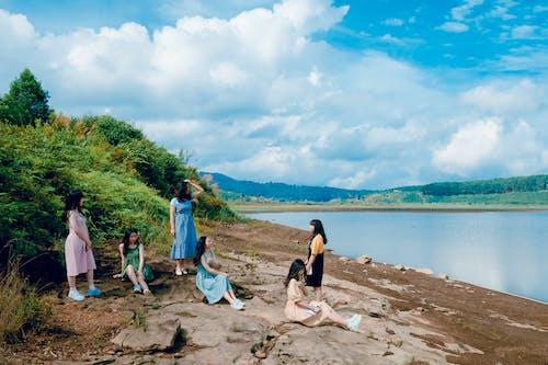 Photos gratuites de adulte, bord de mer, détente, eau