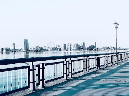 강, 건물, 건축, 경치의 무료 스톡 사진