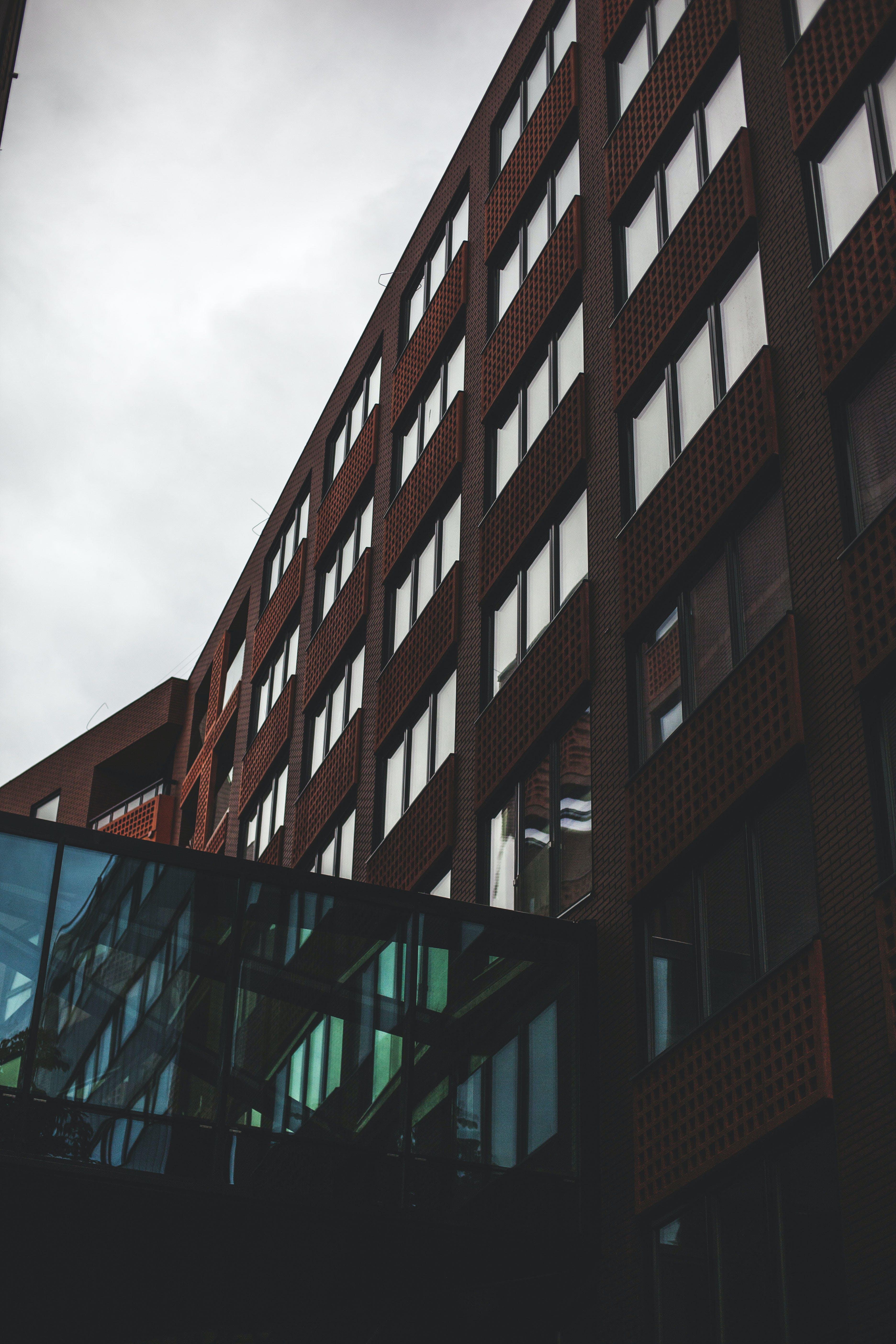 Free stock photo of architecture, architecture. city, blue, brick texture