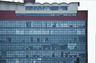 blue, building, pattern