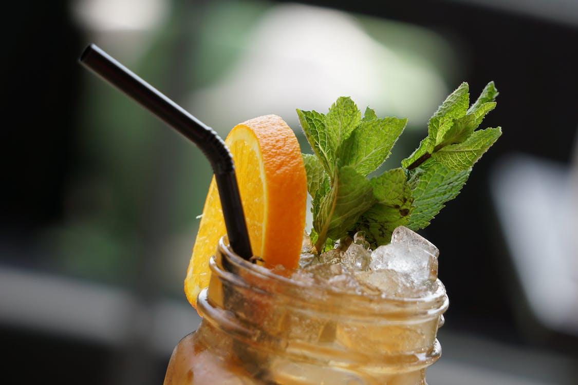 Mason Jar With Beverage