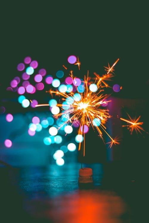 Immagine gratuita di bokeh, celebrazione, concentrarsi, fuochi d'artificio