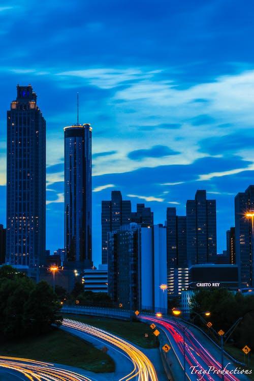 Fotobanka sbezplatnými fotkami na tému atlanta, budova, budovy, červená