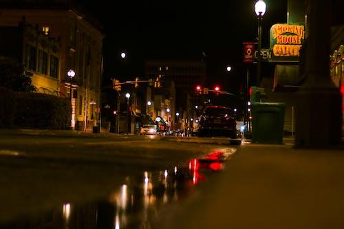 Fotobanka sbezplatnými fotkami na tému fotografia ulice, mesto, mestský, noc