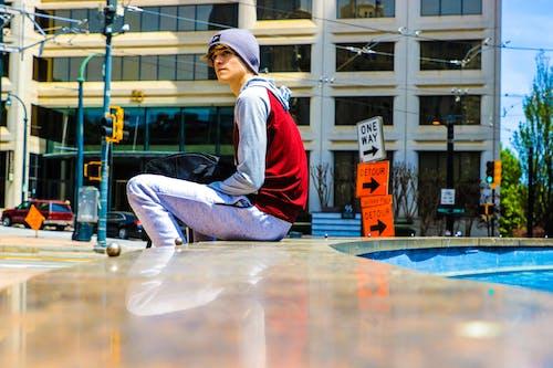 Fotobanka sbezplatnými fotkami na tému atlanta, červená, farba, fotografia ulice