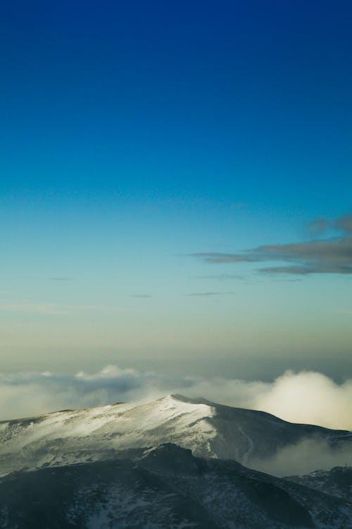 Δωρεάν στοκ φωτογραφιών με άγριος, βουνό, γαλάζιος ουρανός, δέντρα