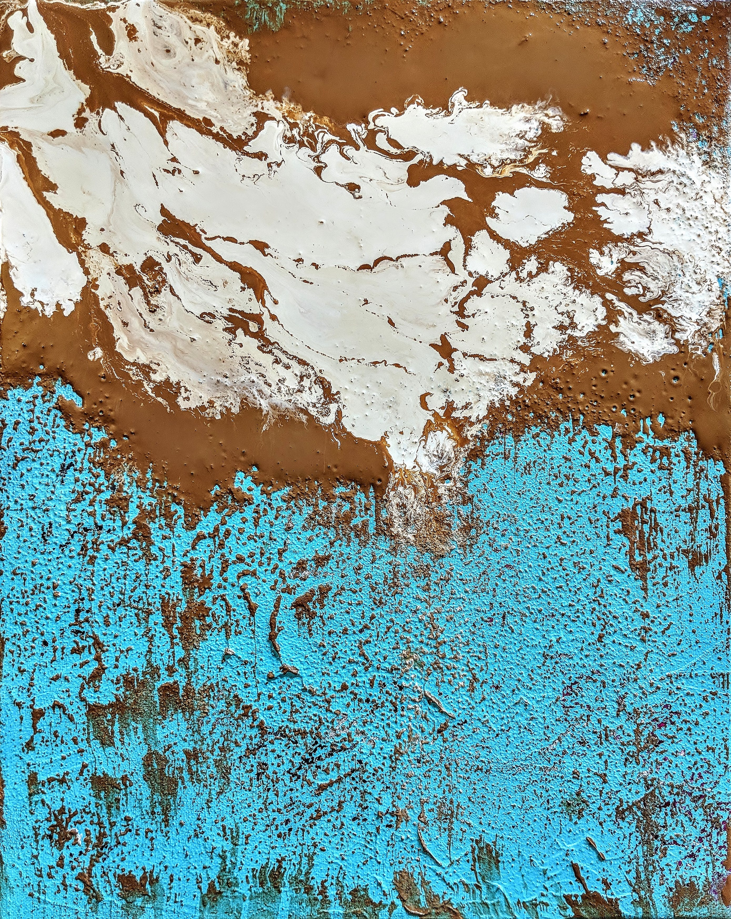 Free stock photo of abstract art, abstract painting, brown, copper