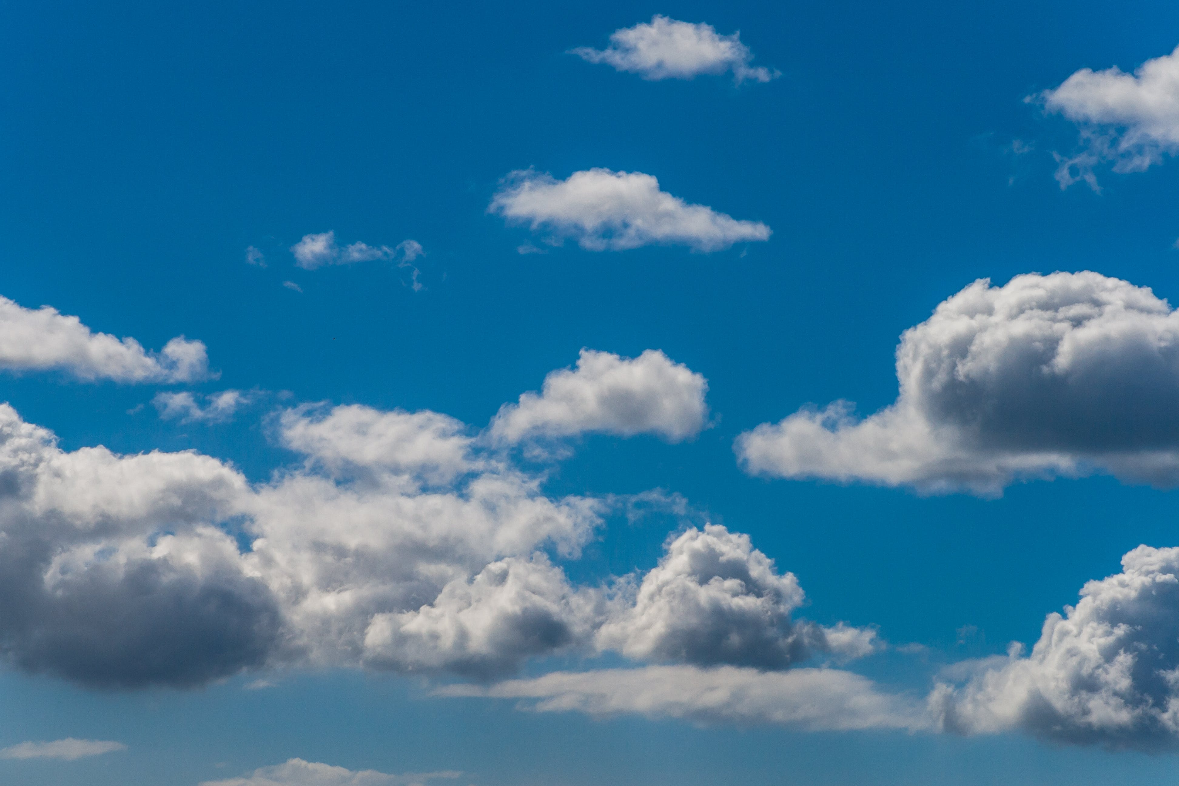Free stock photo of background, blue, blue sky, cloud formation