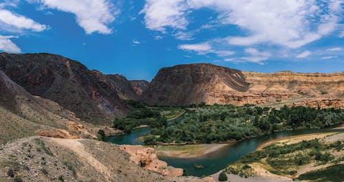 Foto stok gratis air, batu, bukit, gurun pasir