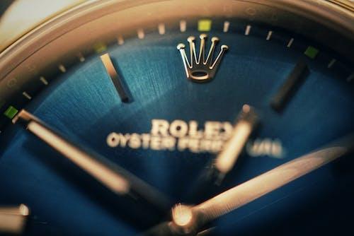 Imagine de stoc gratuită din albastru, ceas analogic, clasic, de lux