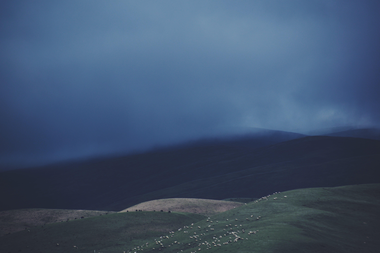 Gratis lagerfoto af dis, landskab, t¨åge