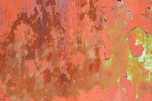 Free stock photo of paint, rust, spots, steel