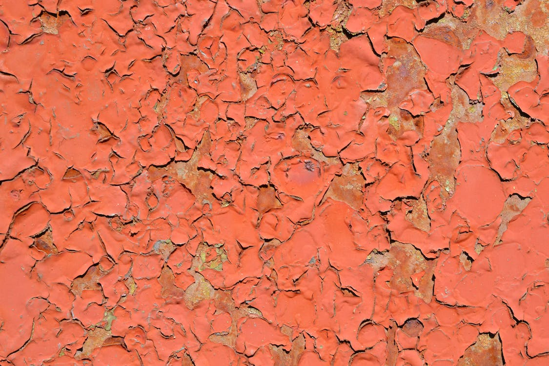 Free stock photo of cracks, fissures, paint