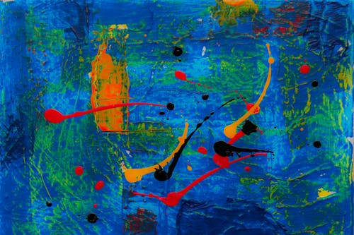 Gratis stockfoto met abstract expressionisme, abstract schilderij, artistiek, canvas