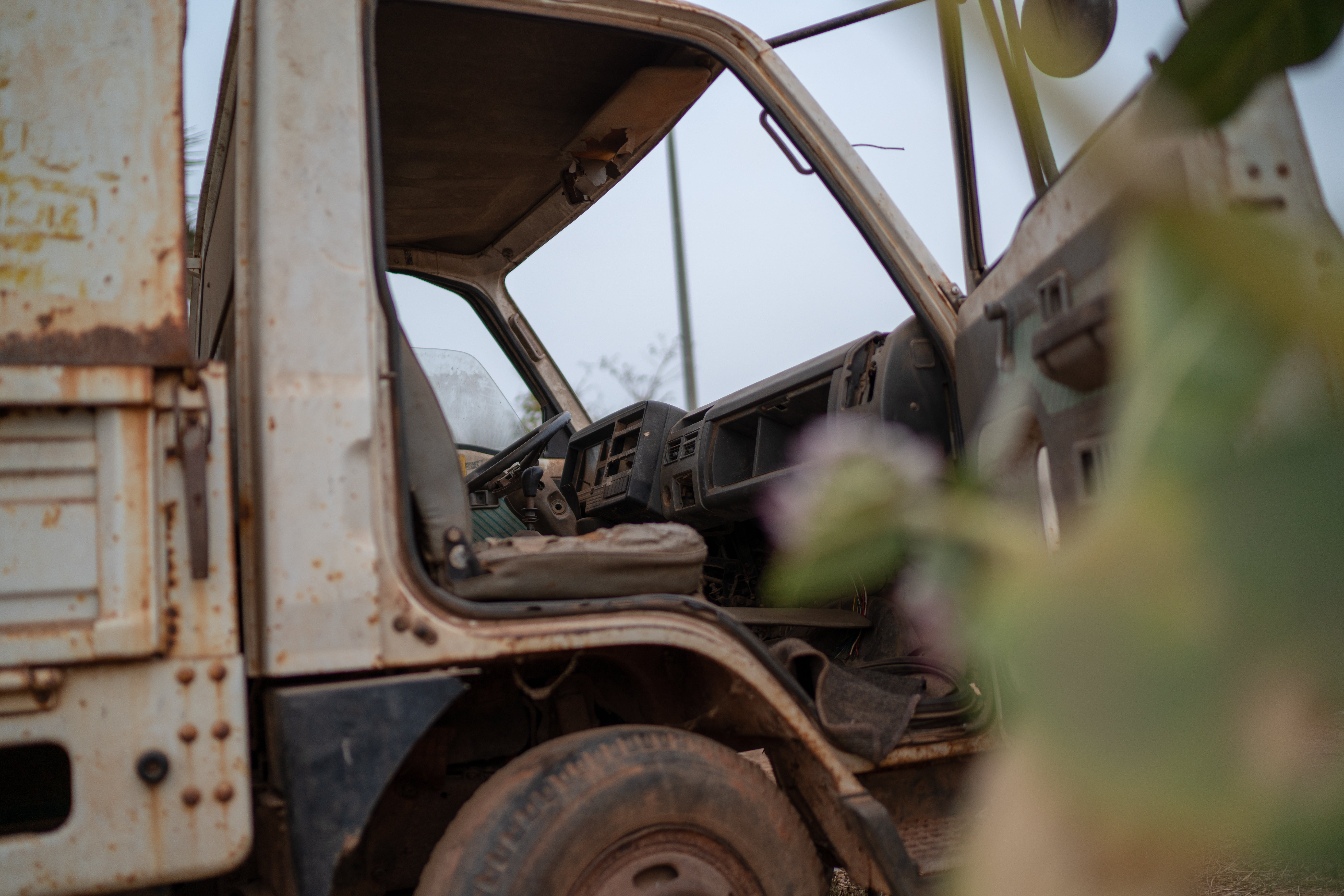 Free stock photo of abandoned, africa, gambia, rust