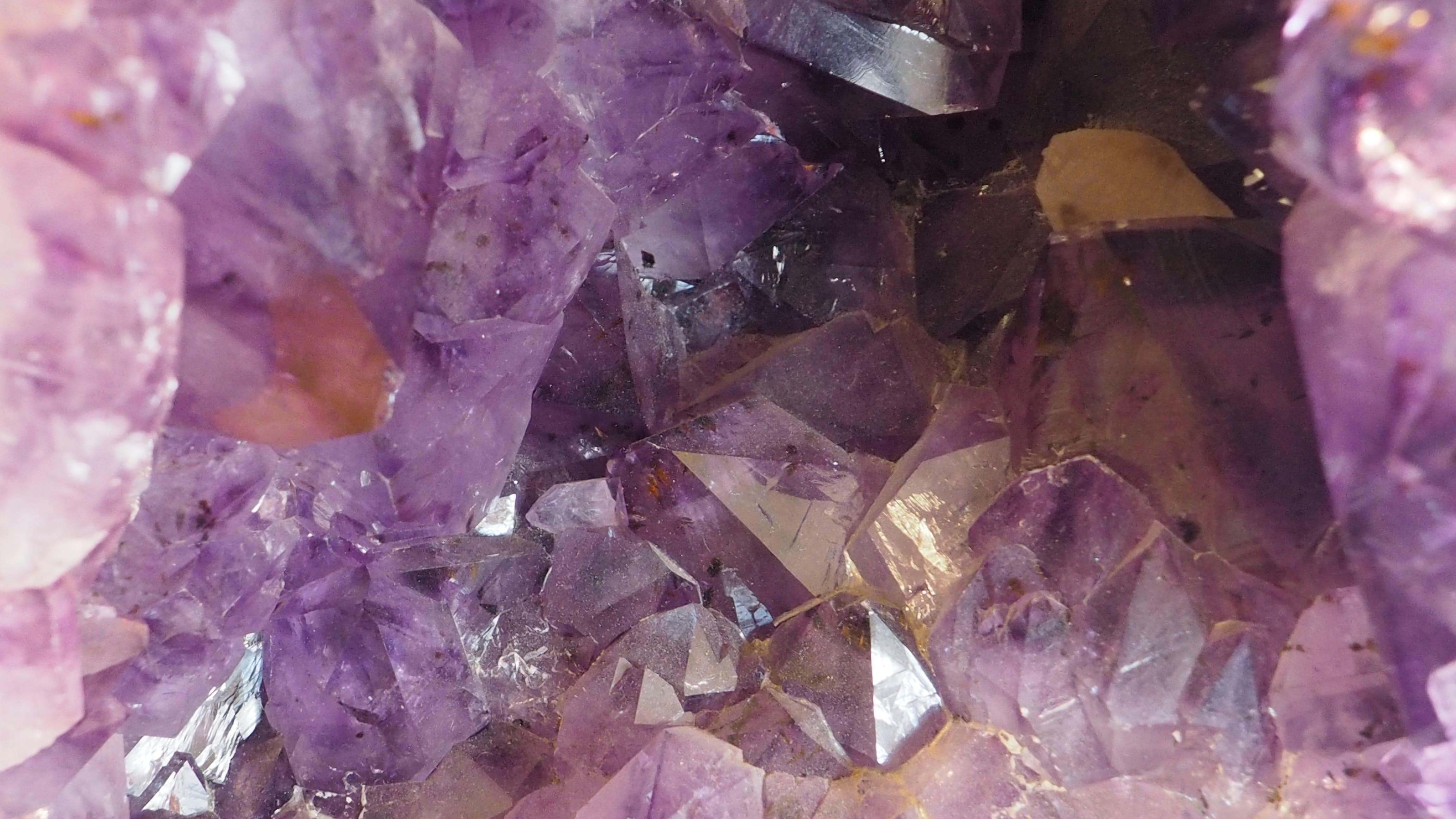 Free stock photo of ametheist, amethyst, crystal, crystalline