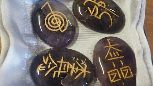標記的石頭, 符文, 符文石, 符文石頭 的 免費圖庫相片