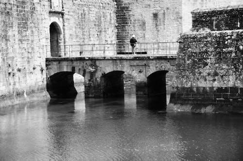 คลังภาพถ่ายฟรี ของ ancien, eau, historique, pont