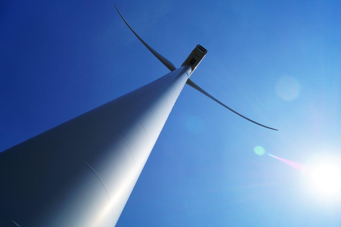 obloha, obnovitelná energie, větrná energie