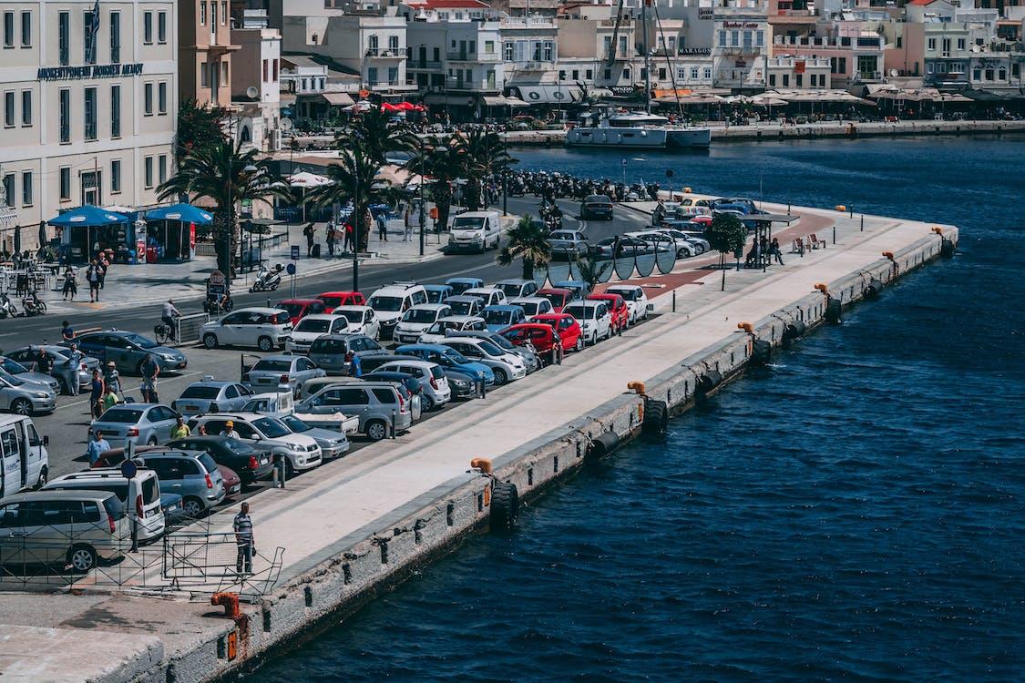 aigua, aparcat, arquitectura