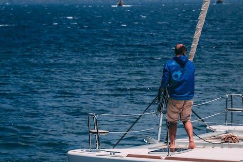 Foto stok gratis air, dek kapal, dewasa, kapal
