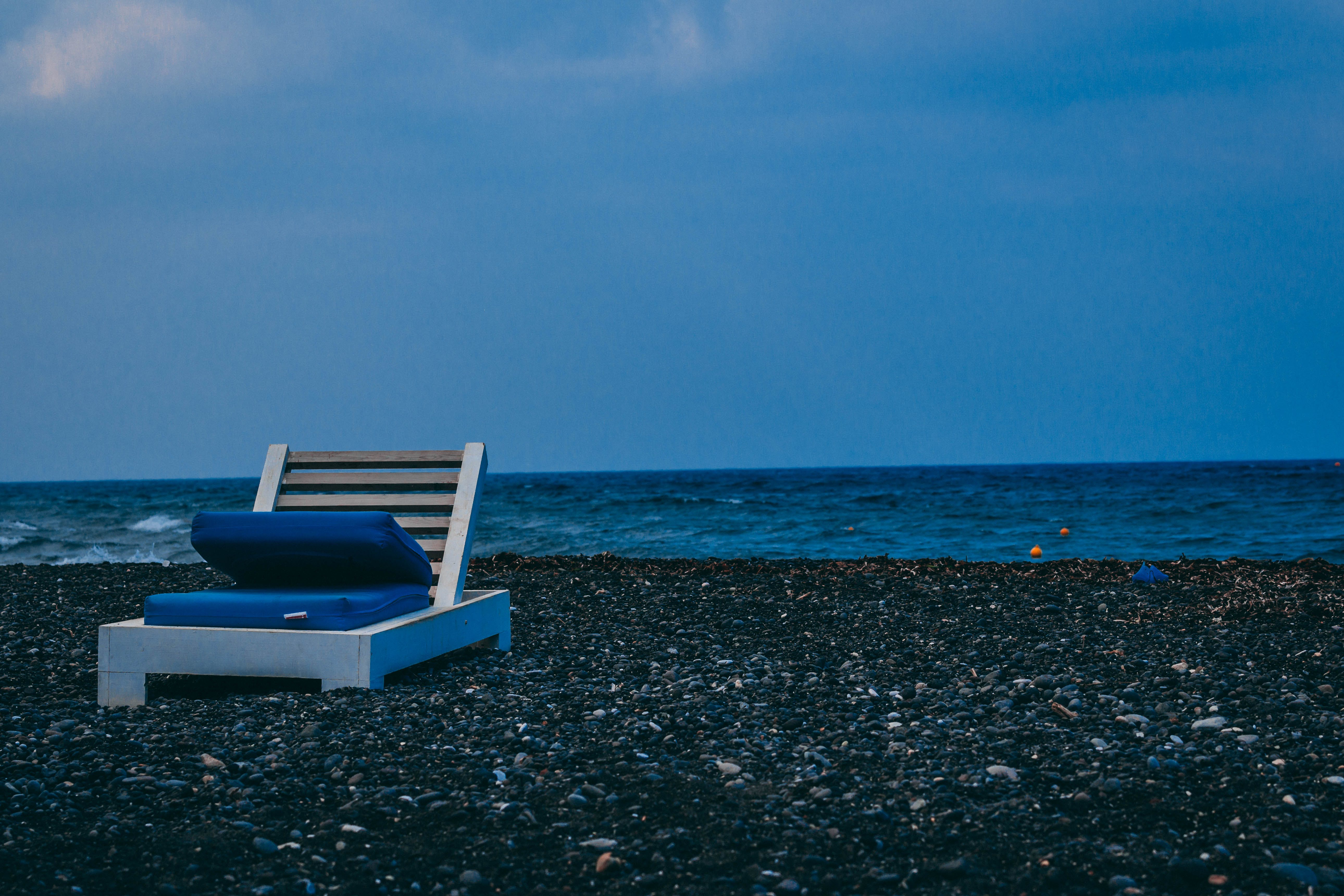 Free stock photo of beach chairs, beach chair