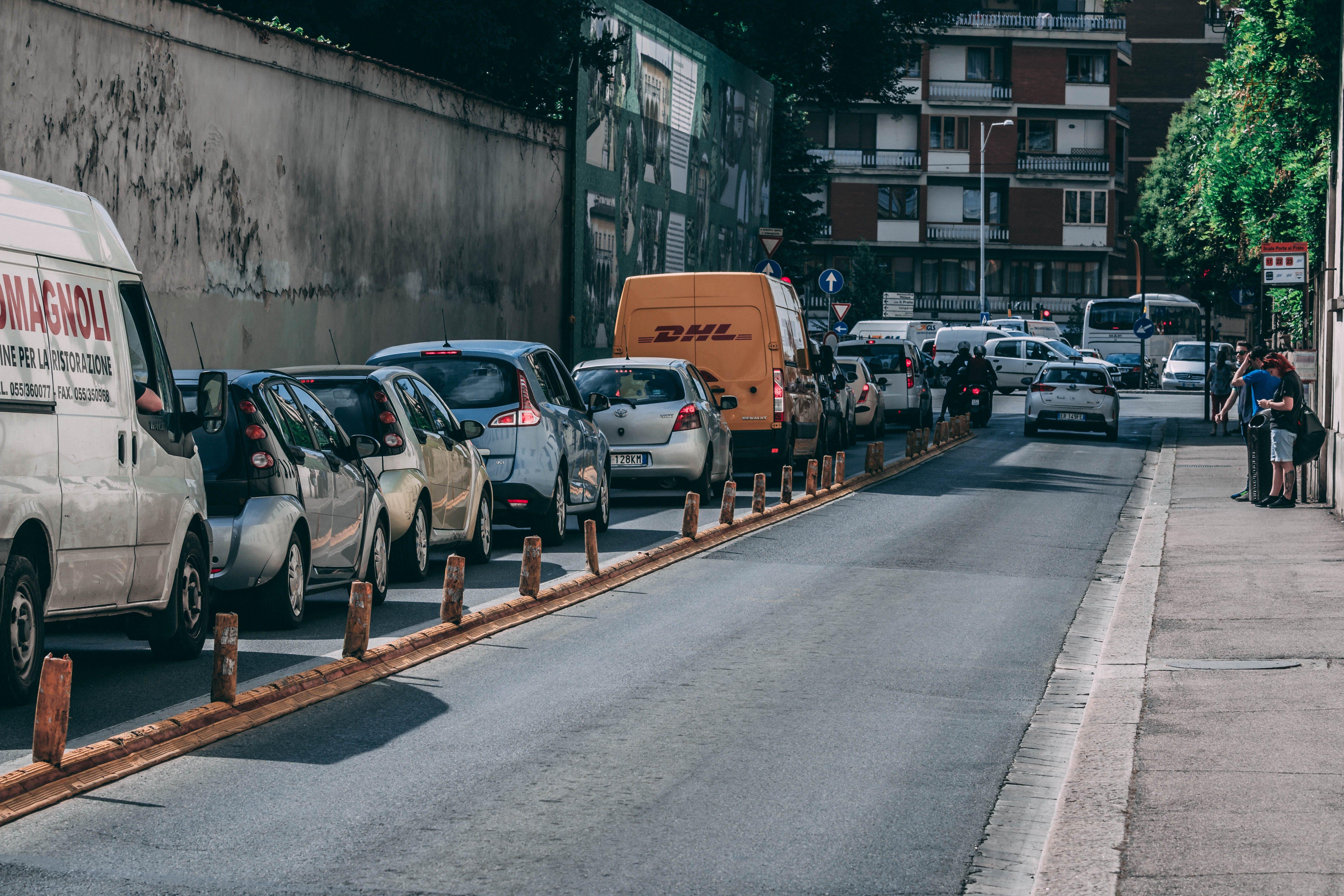 Free stock photo of traffic, traffic jam