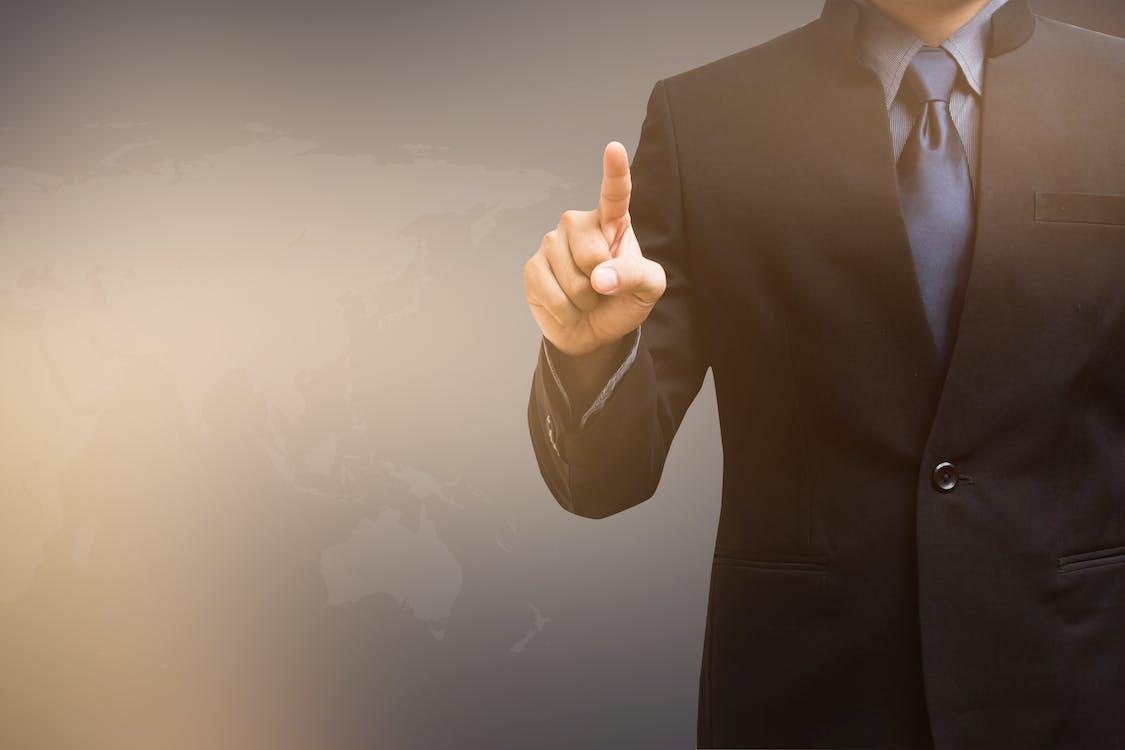 Free stock photo of businessman, button, choice