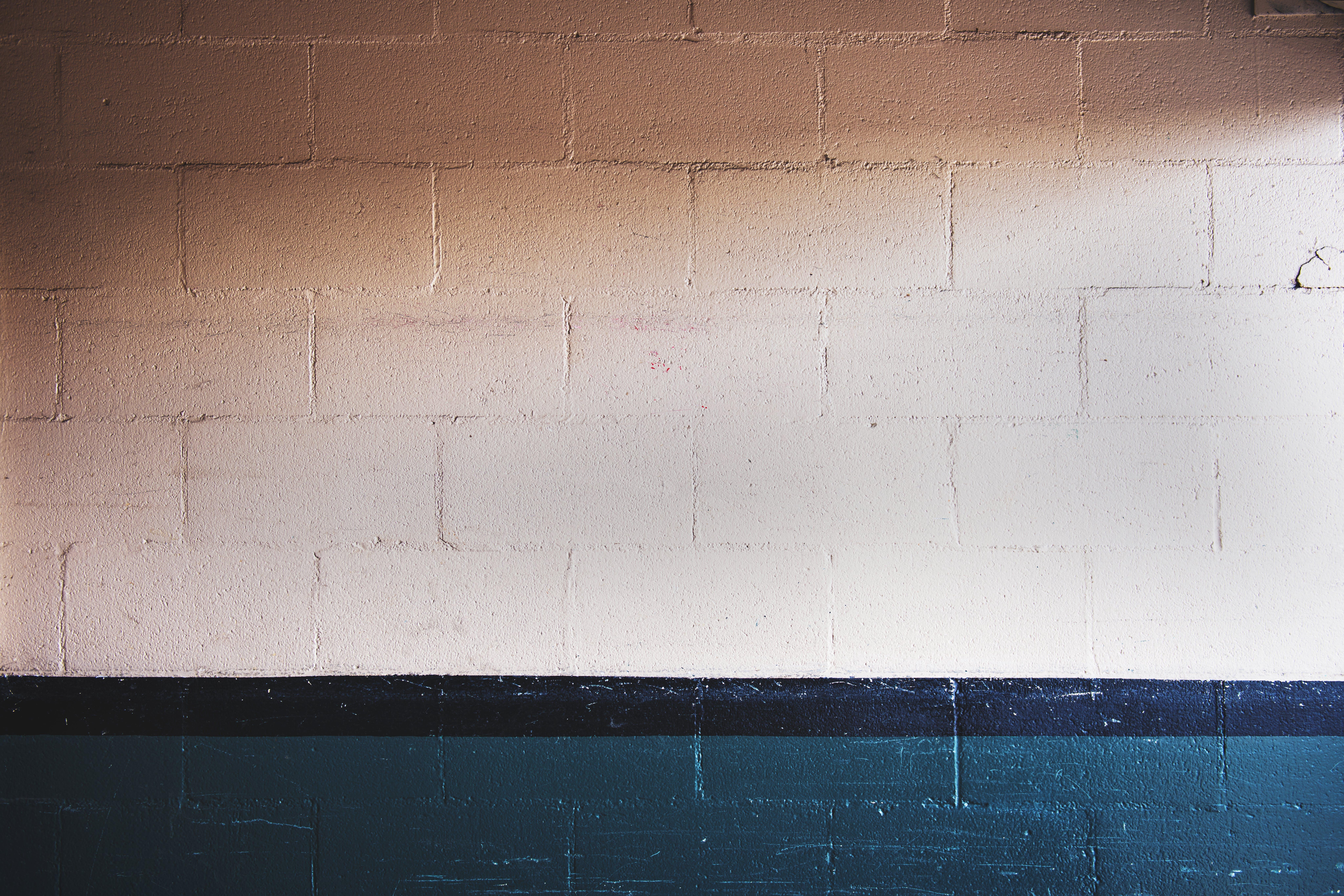 Beige Concrete Wall Brick