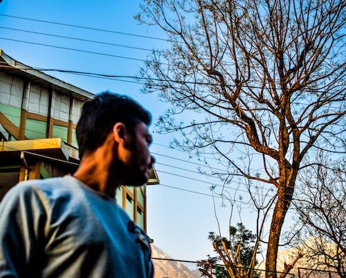 Immagine gratuita di azzurro, cielo azzurro, pace