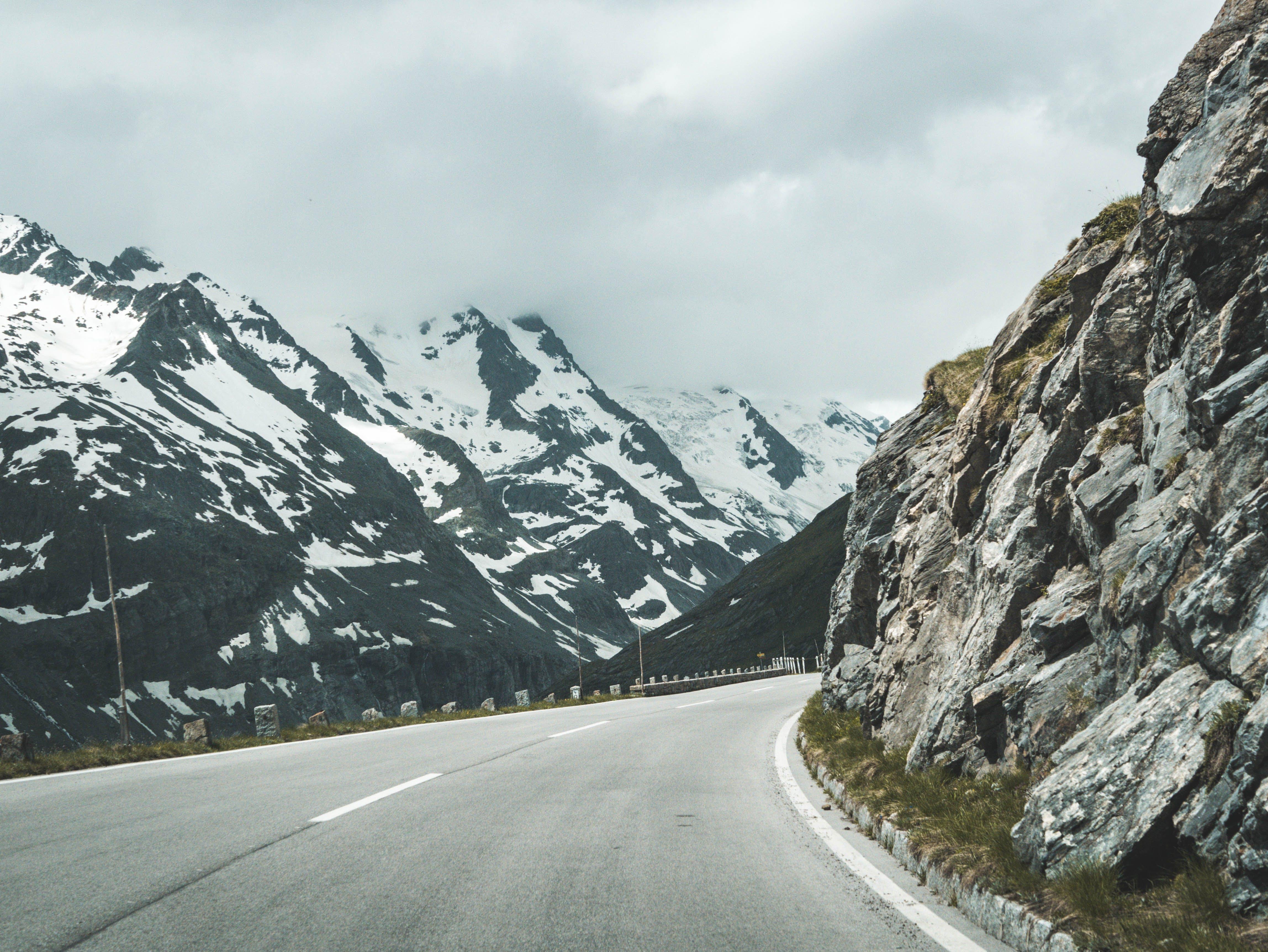 Δωρεάν στοκ φωτογραφιών με αλπικός, Αυστρία, αυτοκινητόδρομος, βουνά