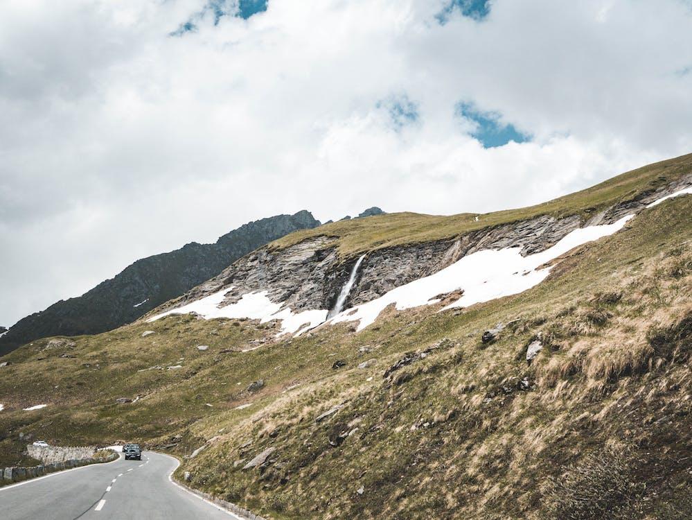 Австрія, Альпійський, асфальт