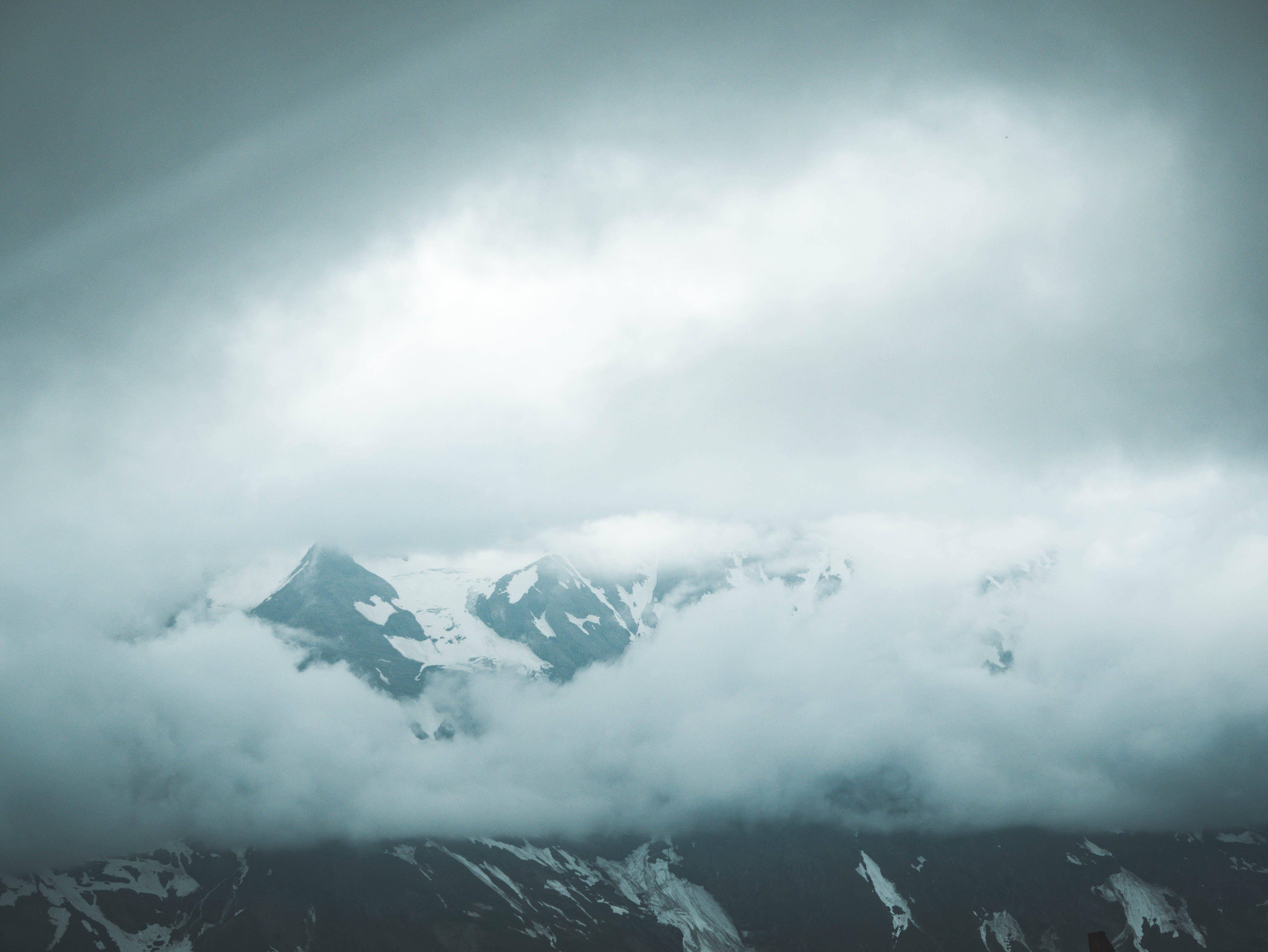 Darmowe zdjęcie z galerii z alpejski, austria, burza, chmury
