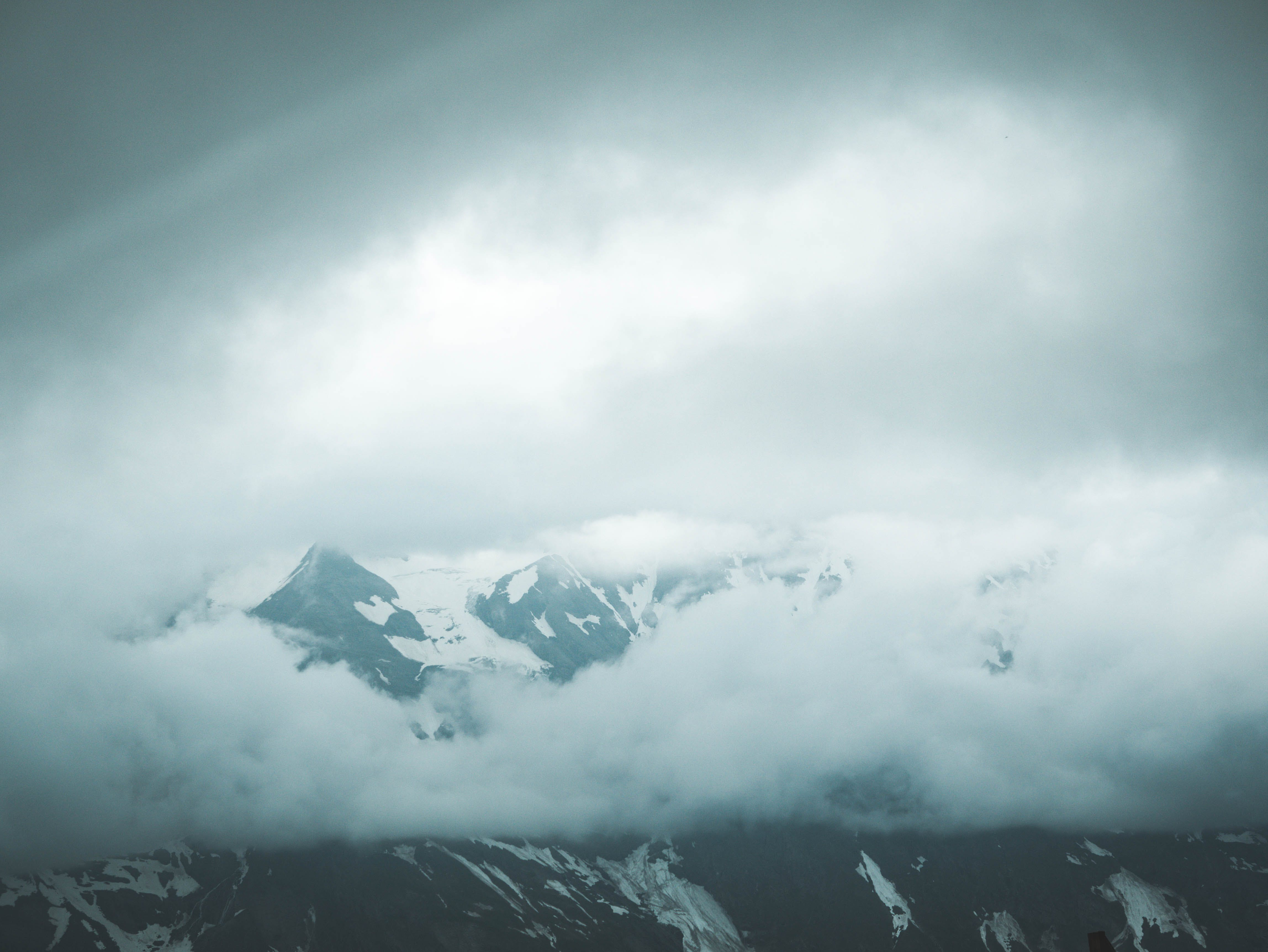 Photograph of Icy Mountain