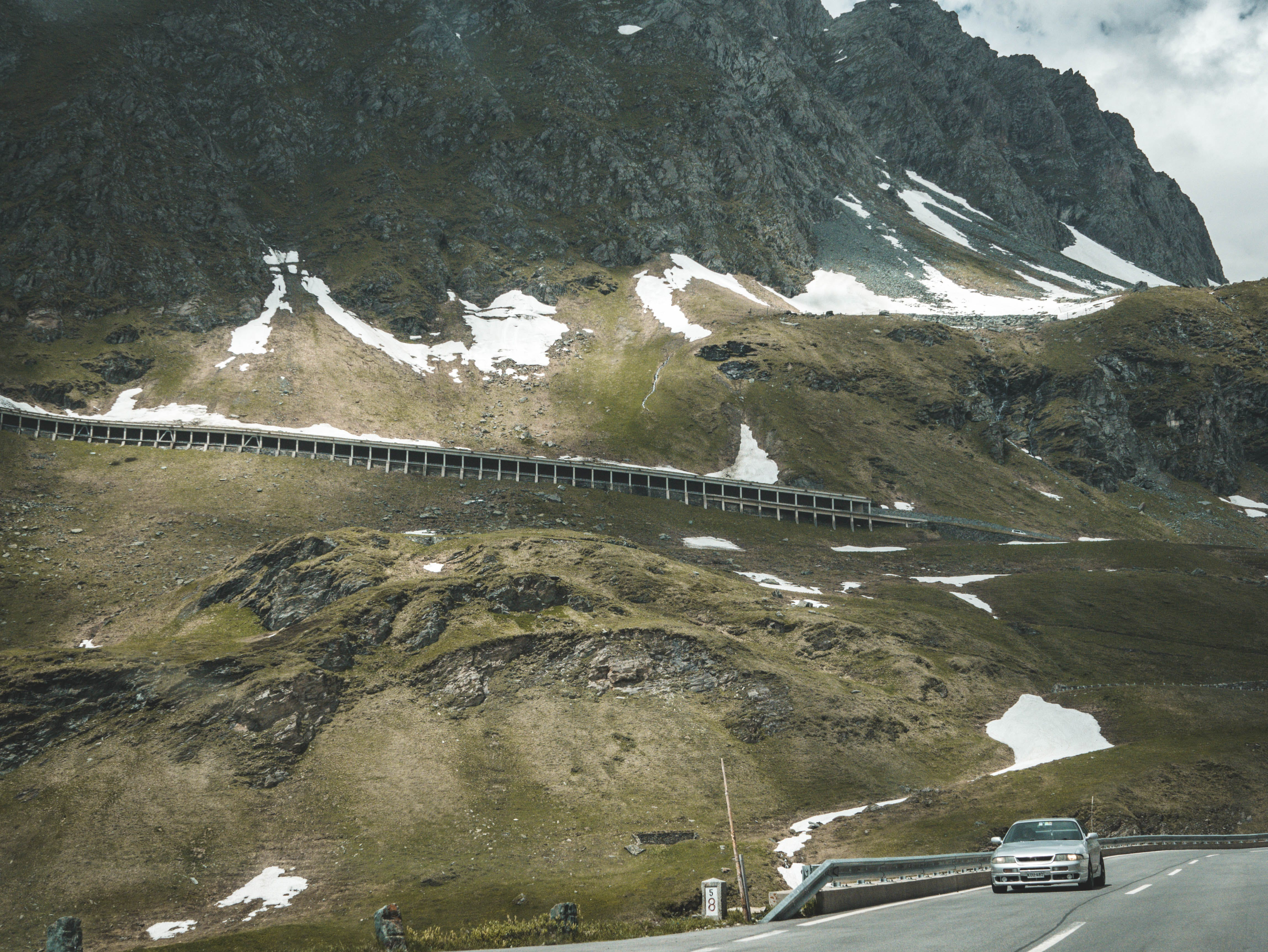 Δωρεάν στοκ φωτογραφιών με αλπικός, Αυστρία, αυτοκίνητο, βουνό