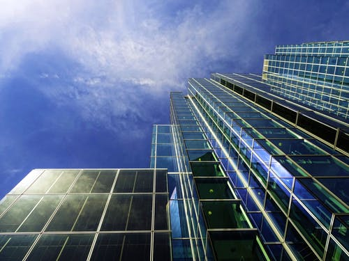 低角度拍攝, 天空, 建築設計, 建造 的 免费素材照片