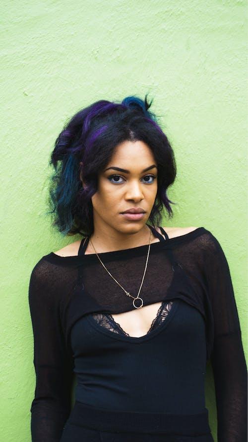 Foto d'estoc gratuïta de afroamericà, color, model negre, negre