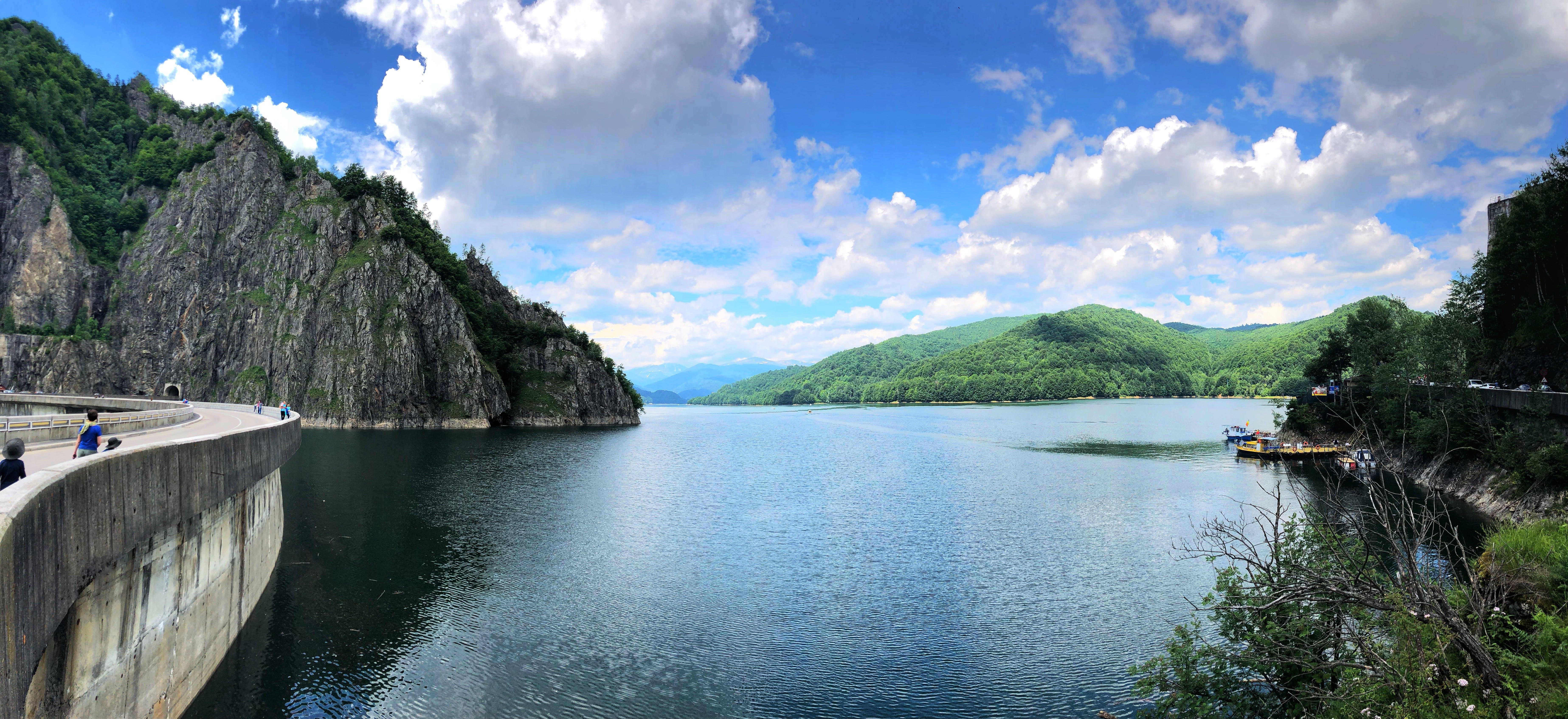 Free stock photo of dam, lake, romania