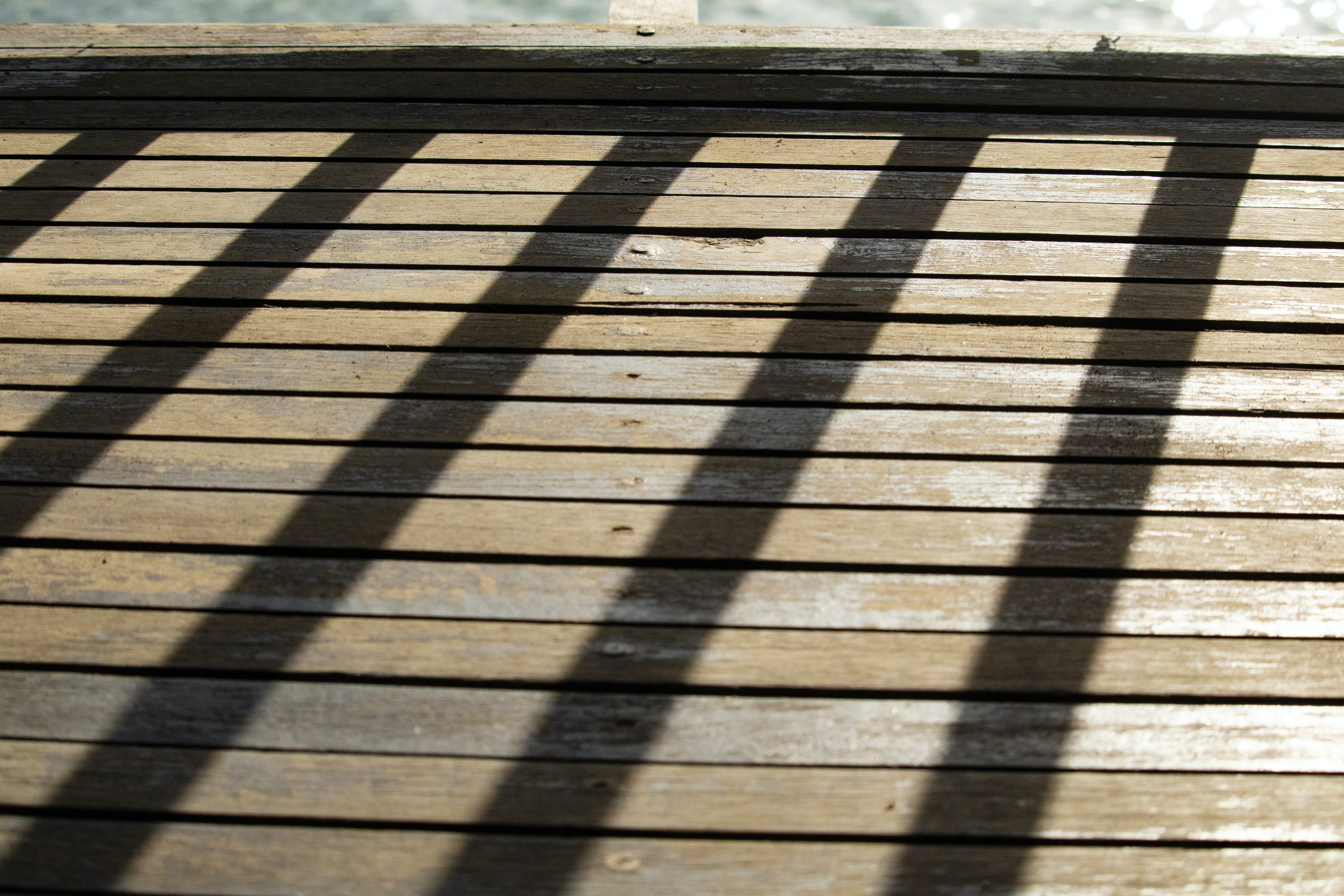 Free stock photo of shadow of a fence