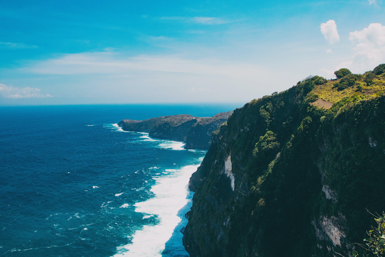 Free stock photo of tropical island landscape
